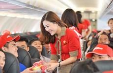 泰国越捷航空的13条国内航线将出售50泰铢起的特价机票