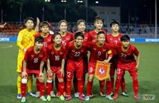 越南女足国家队在东南亚、亚洲和世界排名与上期名次不变