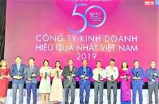 越南天然气总公司跻身2019年越南最佳运营绩效公司50强