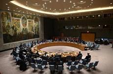 联合国安理会在遭受新冠肺炎疫情影响4个月之后首次召开现场会议