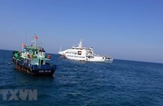 越南海警力量重拳打击海上违法犯罪活动