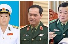 越南政府总理阮春福任命三位国防部副部长