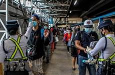 新冠肺炎疫情:印尼单日新增死亡病例创新高 菲律宾部署警察确保隔离措施的执行