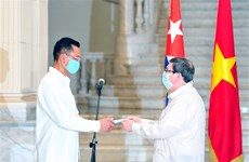 古越两国的合作关系在各个领域取得长足进展