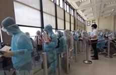 新冠肺炎疫情:将280名越南公民从俄罗斯和白俄罗斯接回国