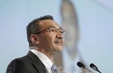 马来西亚呼吁有关各方在国际法的基础上解决东海争端问题