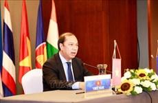 第22届东盟—印度高级官员会议以视频方式召开