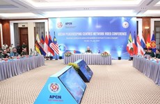 2020东盟轮值主席国:东盟维和中心网络视频会议在河内举行