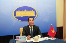 越南外交部副部长苏英勇与英国外交大臣奈杰尔·亚当斯举行电话会谈