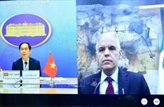 越南与墨西哥两国外交部副部长举行线上会谈