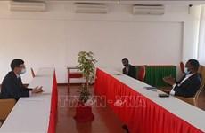 加强越南与莫桑比克执政党合作关系