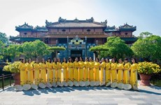 """承天顺化力争成为越南中部""""奥黛之城"""""""