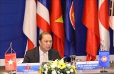 东盟与中日韩高官会以视频方式召开