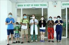 越南连续96天无新增本地确诊病例 新增5例治愈病例
