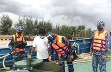 发现外国船只在越南海域进行非法交易D.O油