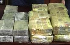 越南破获一起贩运毒品案 当场缉获19公斤海洛因