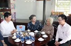 国会主席阮氏金银莅临巴地头顿省调研指导工作