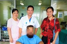 越南成功为一名外国患者进行人工髋关节置换术
