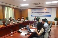 越南工贸部副部长陈国庆出席APEC贸易部长抗击新冠肺炎疫情视频会议
