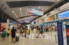 各家航空公司增加航班班次 满足旅客离开岘港市的需求