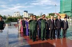 向越南英雄烈士上香系列活动在柬埔寨各省市陆续举行