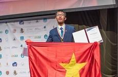 河内学生获得2020年欧洲物理奥林匹克竞赛的金牌