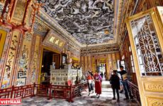 启定陵——顺化瓷器镶嵌艺术的杰作