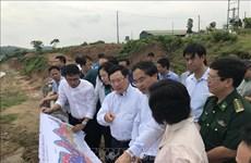 政府副总理范平明视察老街省部分边境地区