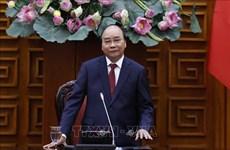 越南政府总理阮春福会见在越南投资兴业的韩国企业代表团