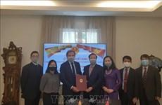 西班牙公民波•戈丹斯被任命为越南驻西班牙巴塞罗那市名誉领事