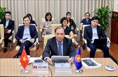 2020年东盟轮值主席国年:疫情后东盟恢复高级对话会召开