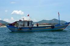 承天顺化省发现一艘承载9名故意逃避隔离人员的渔船