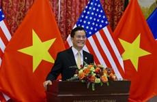 越南驻美国大使馆举行越美建交25周年纪念典礼