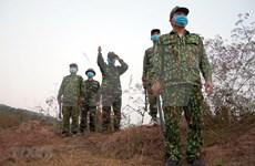 越南军队力量坚决打击非法入境活动