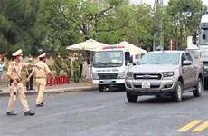 岘港市在通往城市要道上设立8个检查站 对封锁区的3000人进行新冠病毒测试