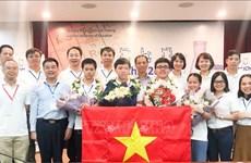 2020年国际化学奥林匹克竞赛:越南队成绩排名世界第二