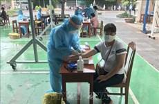 岘港市开展大规模新冠病毒检测