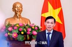 越柬边界地形图交接仪式在越南西宁省木排国际口岸举行