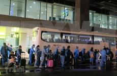 将230名越南公民从韩国安全接回国