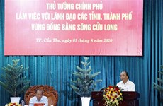 阮春福总理:九龙江三角洲应集中化解困难 坚决打赢防疫攻坚战