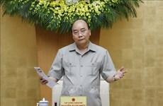 阮春福总理:坚决遏制第二波新冠疫情扩散避免经济遭受创伤