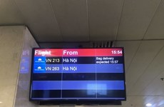 越航部署机场行李信息显示系统