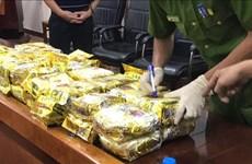 越南成功侦破一起特大跨国贩运毒品案