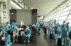 300名越南公民从加拿大和韩国安全回国
