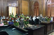 胡志明市人民法院对8人聚众扰乱安全罪一案公开宣判