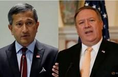 美国和新加坡强调支持在国际法的基础上解决东海争端问题