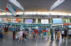 岘港市安排2趟航班运送滞留乘客离开该市