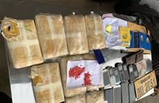 越南成功破获特大跨境毒品案缴获大量毒品