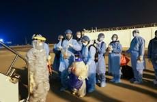 新冠肺炎疫情:将在日本滞留的220多名公民接回国