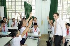 美国派遣志愿者赴越南任教英语